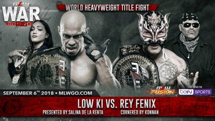 Rey Fenix vs. Low Ki September 6
