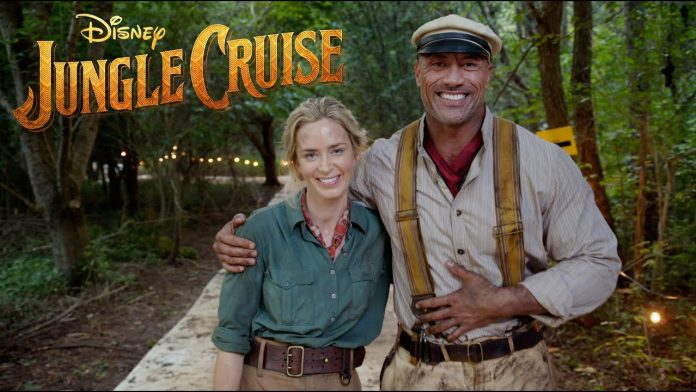 Dwayne Johnson Disney's Jungle Cruise