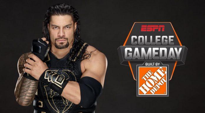 Roman Reigns ESPN GameDay Picker