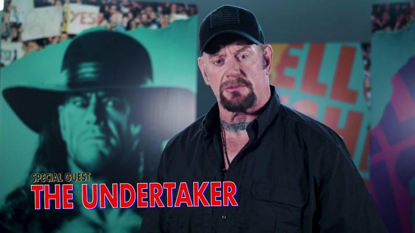 WWE Undertaker featured in Sermon Series