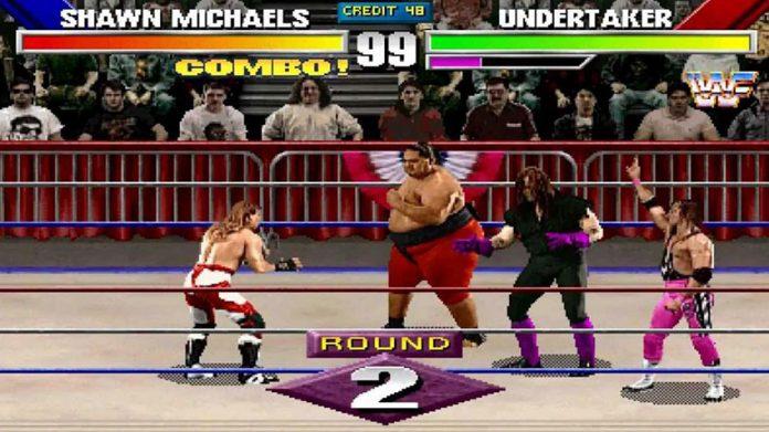 wrestling video games