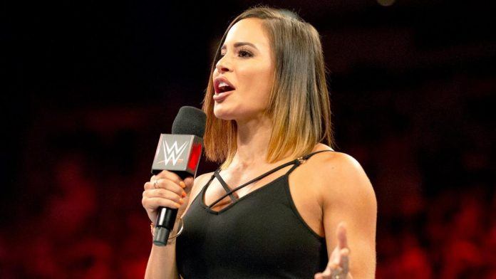 WWE Raw Charly Caruso