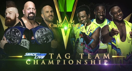 The Bar vs. The New Day