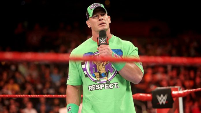 John Cena's replacement at Crown Jewel