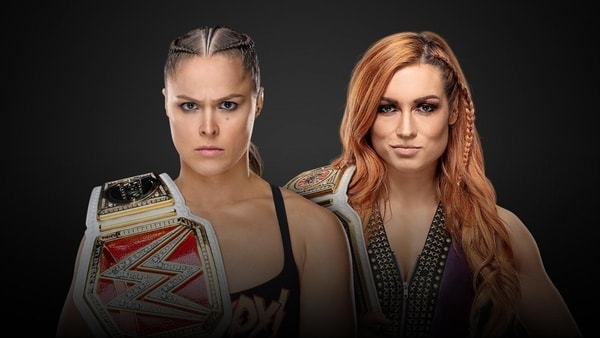 Ronda Rousey vs Becky Lynch