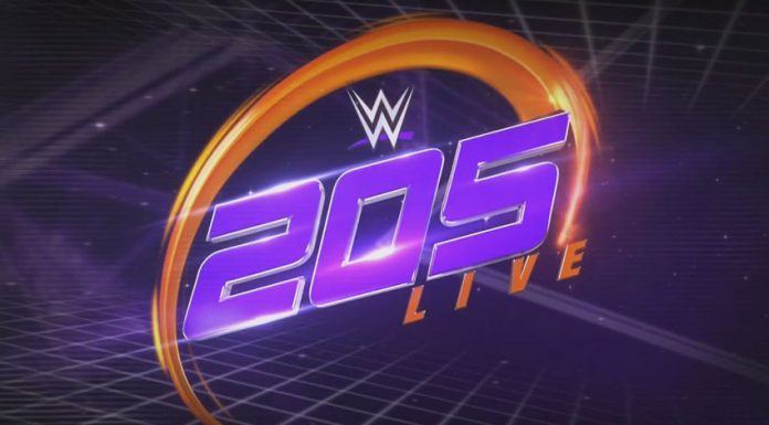 205 Live TV taping results