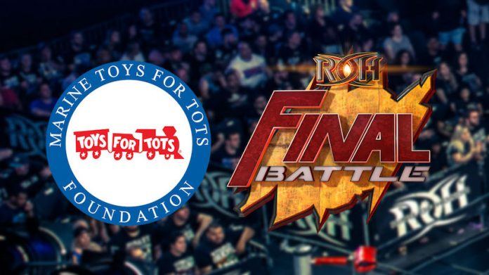 Ring of Honor Toys For Tots