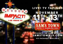 Impact TV tapings