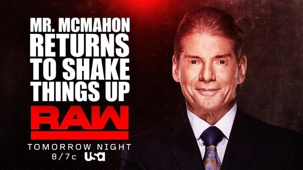 Match added to RAW 12-17-2018