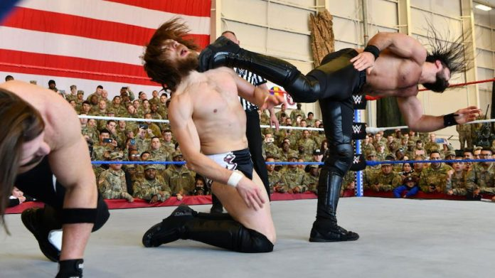 WWE 2018 Tribute to the Troops