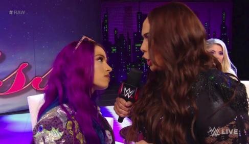 Sasha Banks facing Ronda Rousey at Royal Rumble