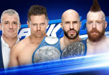 The Miz vs. Cesaro Smackdown