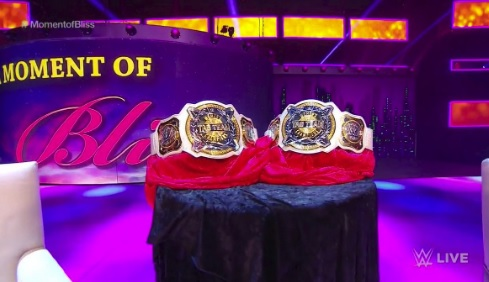 First-ever WWE WOmen's tag team championships