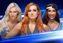WWE Smackdown Live Triple Threat