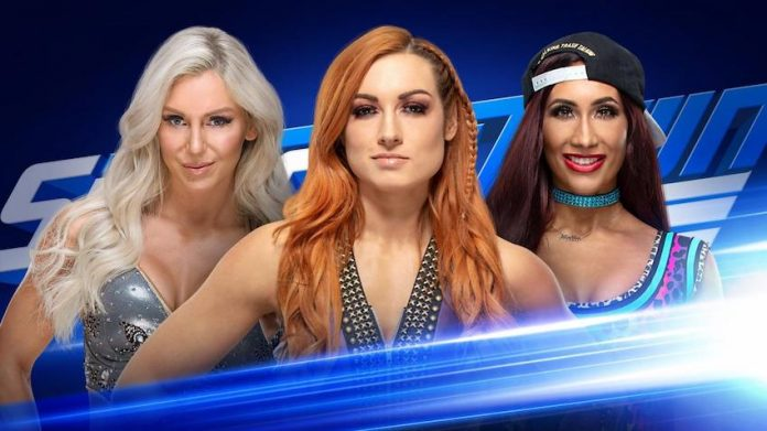 WWE Smackdown Live Triple Threat