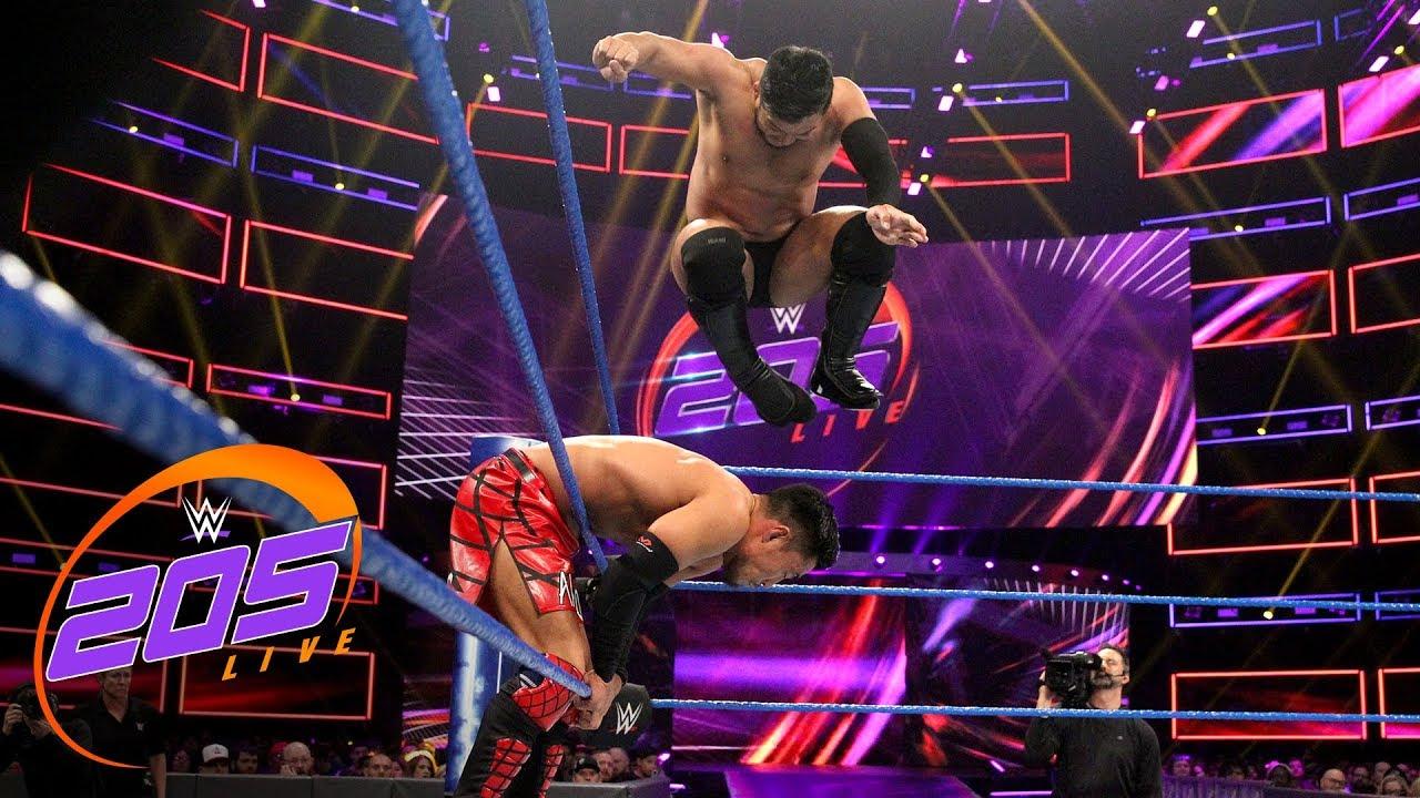 List Of Wwe Papervieuw 2019: 205 Live Highlights: Hideo Itami's Final Match, Nese