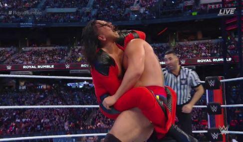 New U.S. Champion at Royal Rumble