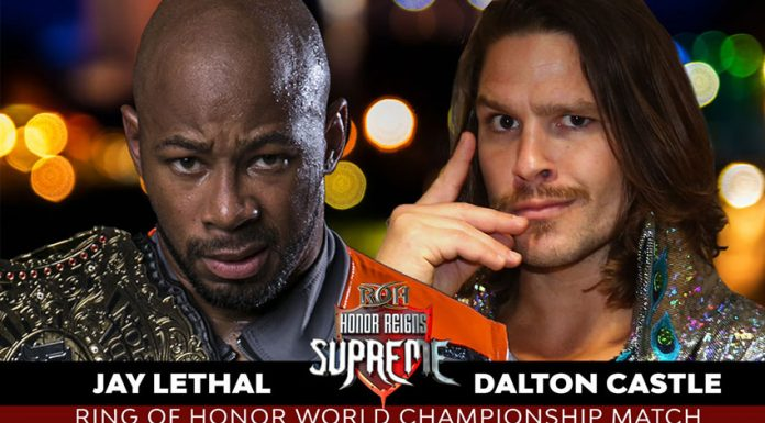 ROH Honor Reigns Supreme Results