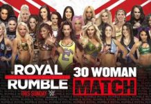 Updated Royal Rumble card