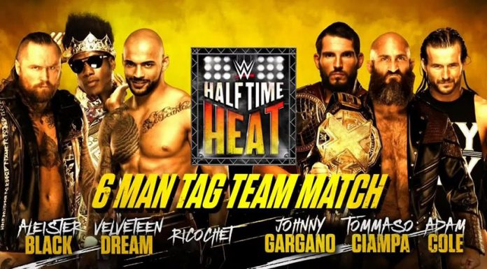 WWE Halftime Heat Results
