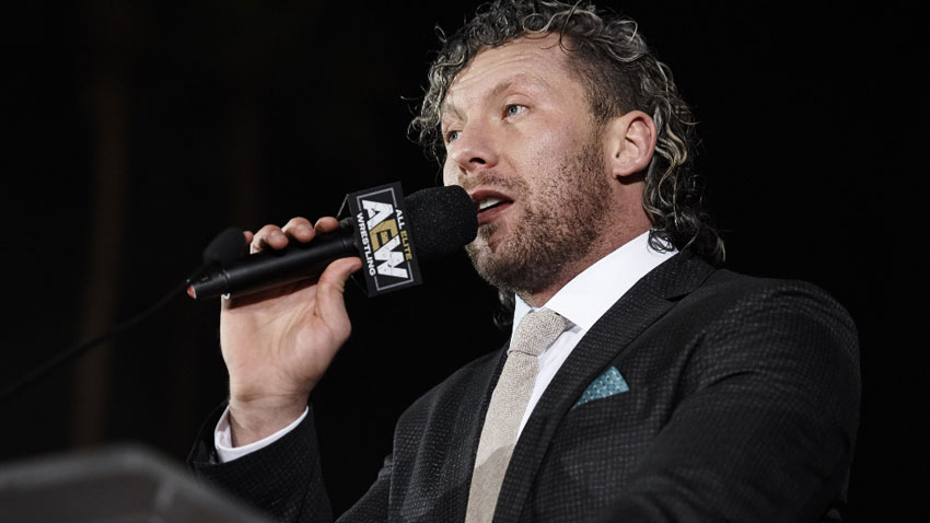 Kenny Omega files for new trademarks