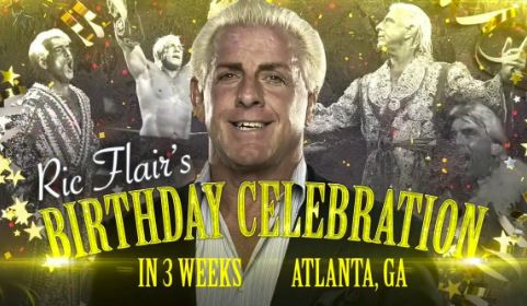 Ric Flair 70th biirthday