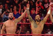 Ricochet makes RAW debut