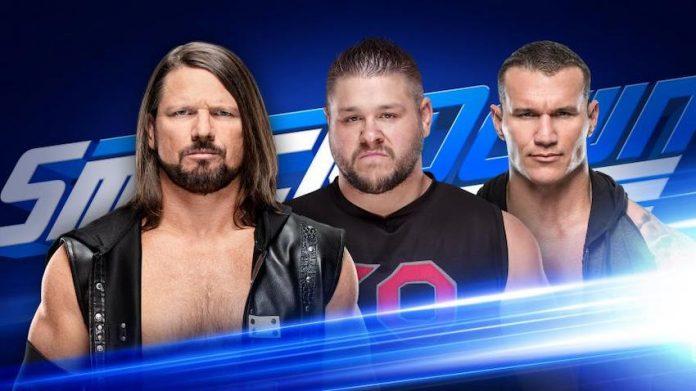 AJ Styles and Randy Orton Smackdown Live