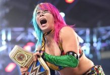Asuka ok after injury scare