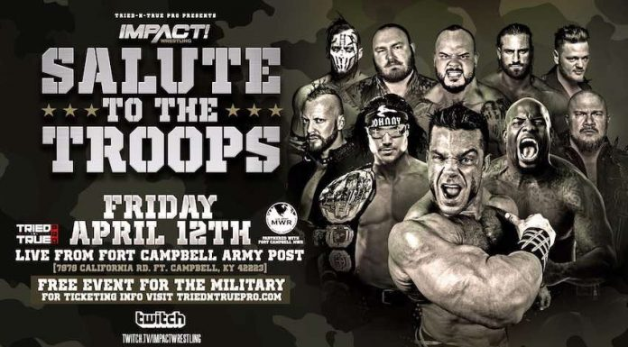 Impact Wrestling Salute to the Troops