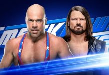 Kurt Angle vs. AJ Styles
