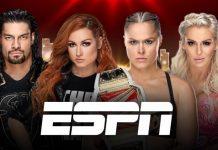 WWE stars on ESPN Tuesday