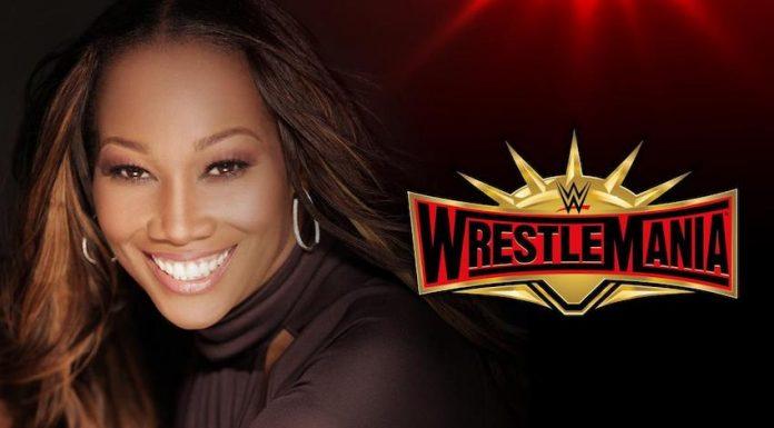 Yolanda Adams WrestleMania 35