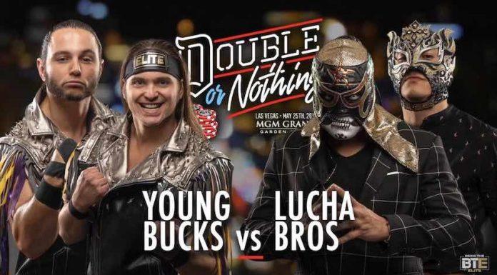 Young Bucks vs. Lucha Bros