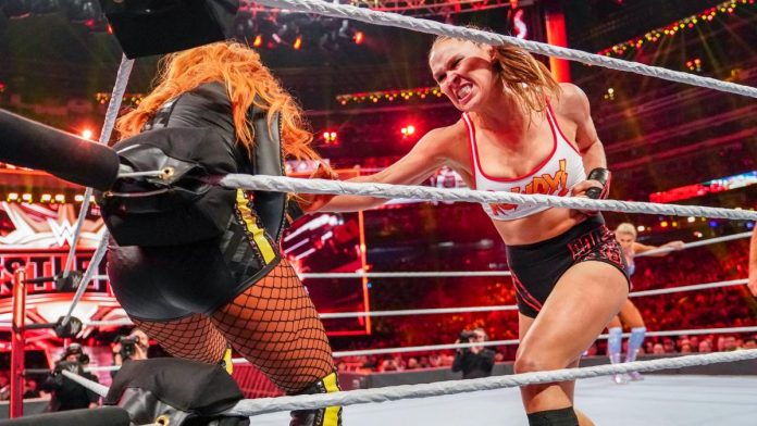 Ronda Rousey injured