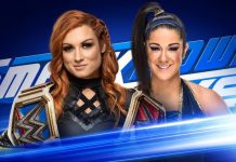 Becky Lynch and Bayley Square off Smackdown