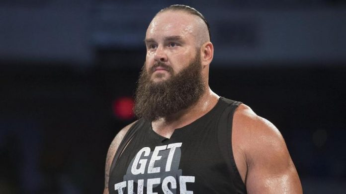 Braun Strowman to throw first at Brewers game Sunday