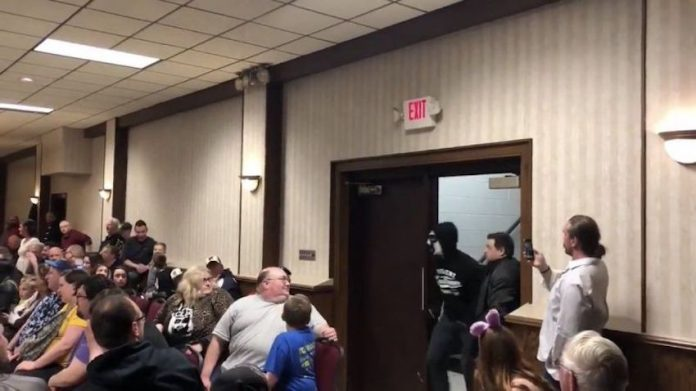 CM Punk returns under a mask independent show
