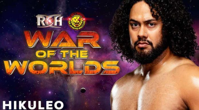 Hikuleo ROH War of the Worlds Tour