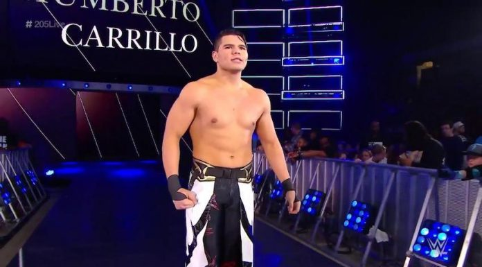 WWE star Humberto Carrillo gets engaged