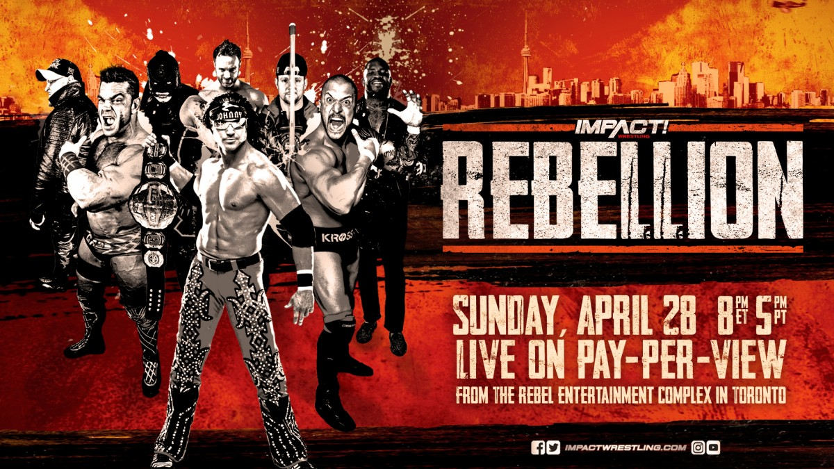 Rebellion coming to PPV