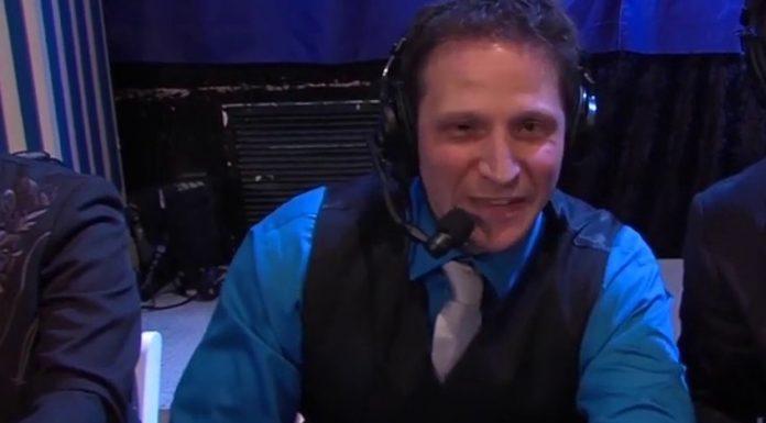 CWFH announcer Jonny Loquasto