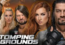 WWE Stomping Grounds announced