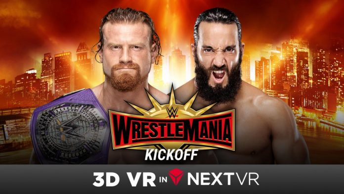 WrestleMania Kickoff