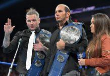 Hardy Boyz relinquish titles