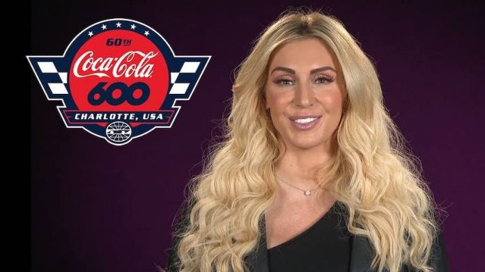 Charlotte Flair named pace car driver Coca-Cola 600