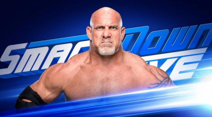 Goldberg first ever on Smackdown this Tuesday