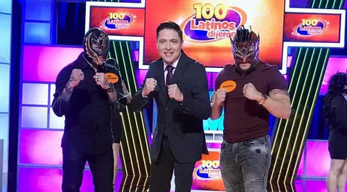 Rey Mysterio and Kalisto to compete on 100 Latinos Dijeron