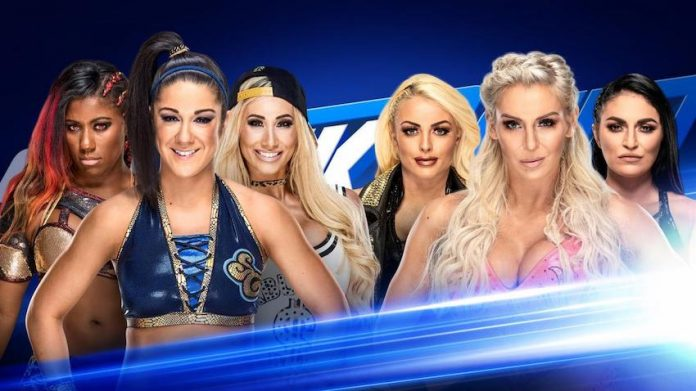 new matches and segment Smackdown Live Tuesday