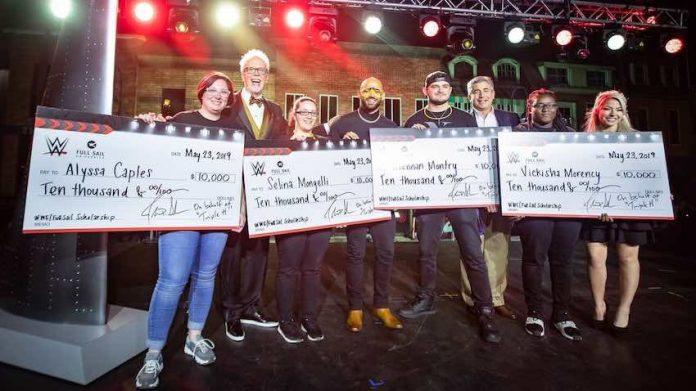 WWE awards scholarships Full Sail